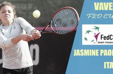 Fed Cup 2018. Jasmine Paolini: la segunda baza italiana