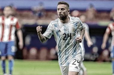 """Minutos para Acuña y """"Papu Gómez"""" ante Paraguay"""