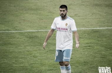 Giorgi Papunashvili, en un partido de la presente campaña / Foto: Andrea Royo (VAVEL)