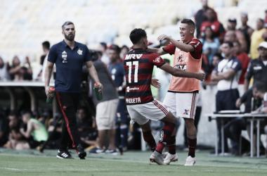 """Paquetá comenta vaias da torcida do Flamengo a Sávio: """"Quando pedem algo, é para nosso bem"""". Foto: Gilvan de Souza/Flamengo"""