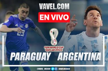 Resumen y mejores momentos del Paraguay 0-0 Argentina en Eliminatorias Conmebol 2022