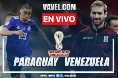 Goles y resumen del Paraguay 2-1 Venezuela en Eliminatorias CONMEBOL 2021