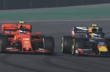 Albon y Leclerc nos regalan un GP virtual de Brasil muy emocionante