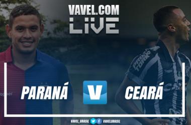 Resultado Paraná 0 x 1 Ceará pelo Campeonato Brasileiro 2018