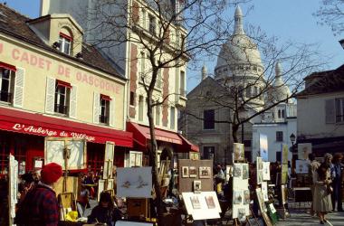 Barrio de Montmartre, París. Fuente: Thinglink