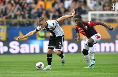 Serie A- Il Parma affonda il Genoa nel segno di Cornelius e Kulusevski, Andreazzoli appeso a un filo (5-1)