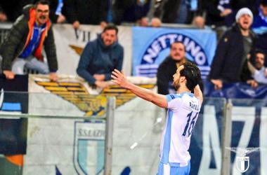 Lazio, Inzaghi con il dubbio Parolo | www.twitter,com (@OfficialSSLazio)