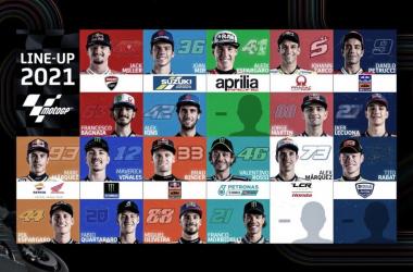 Así queda la parrilla de MotoGP para la próxima temporada