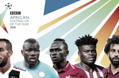 Los cinco candidatos a ganar el premio a Mejor Futbolista Africano del Año / Foto: BBC
