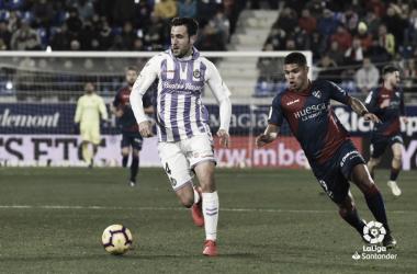 Partido entre el Real Valladolid y la SD Huesca | LaLiga Santander
