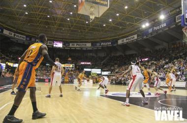 Fotos e imágenes del Valencia Basket - Olympiakos de Euroliga   Jordi Montañana - Territori Taronja