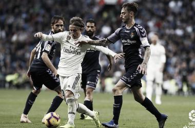 Encuentro de la primera vuelta entre el Real Valladolid y Real Madrid en el Bernabéu | LaLiga