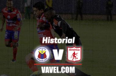 Historial: Deportivo Pasto vs América de Cali