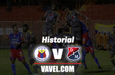 Historial por Copa Aguila entre Independiente Medellín y Deportivo Pasto