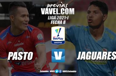 Previa Deportivo Pasto vs Jaguares de Córdoba: por acercarse a los ocho