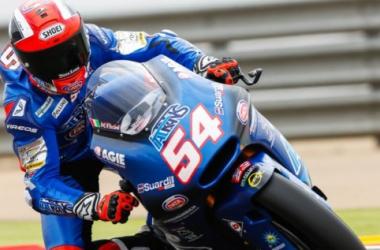 Moto2, Gp di Aragon - A Luthi risponde Pasini, Morbidelli è lì