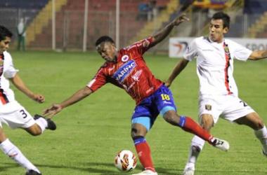Deportivo Pasto goleó a Melgar de Perú