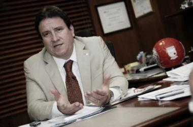 César Pastrana, presidente de Santa Fe. Cortesía: El Espectador