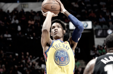 McCaw en un partido frente a los Spurs | Foto: nba.com/warriors