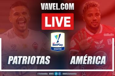Resumen Patriotas vs América (0-1) en la fecha 1 por Liga BetPlay 2021-I
