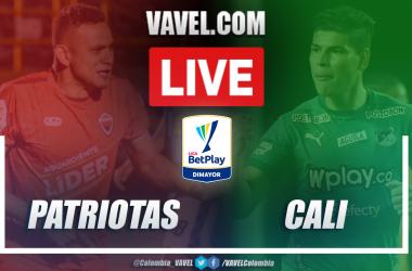 Resumen y goles: Patriotas Boyacá (0-1) Deportivo Cali por la fecha 5 de la liga BetPlay 2021-I