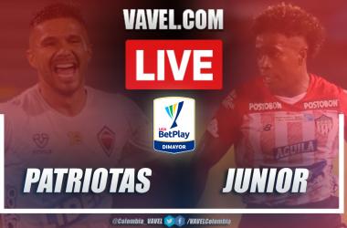 Resumen Patriotas vs Junior (1-0) en la fecha 10 por Liga BetPlay 2021-I