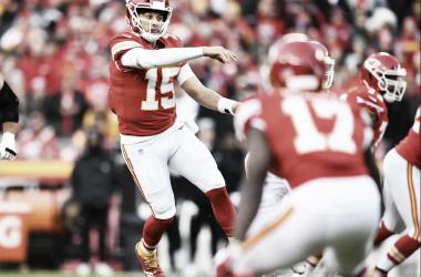 Pat Mahomes alcanzó los 50 pases de touchdown. Foto: Kansas City oficial.