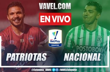 Resumen y goles: Patriotas Boyacá (0-3) Atlético Nacional en la fecha 5 de la Liga BetPlay 2021-II