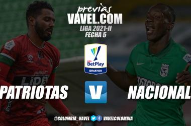 Previa Patriotas Boyacá vs. Atlético Nacional: el 'verde' llega reforzado para afirmarse en la punta
