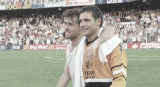 El día que el Valencia se clasificó por primera vez en la Champions
