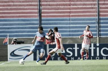 Galmarini jugó en el medio y de 4 también (Foto: Tigre Oficial).