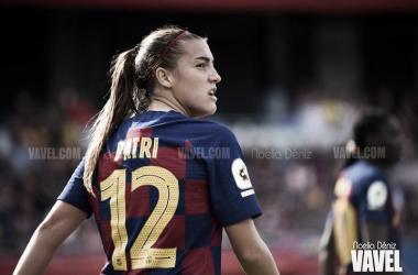 Patri Guijarro, jugadora del Barcelona | Foto: Noelia Déniz - VAVEL