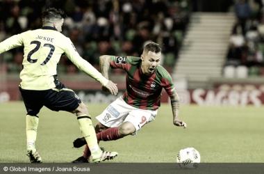 Patrick en el Marítimo-Sporting de Braga | Fotografía: Global Imagens // Joana Sousa