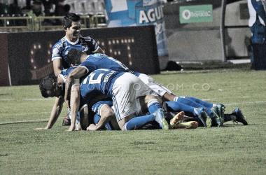 César Carrillo y Roberto Ovelar fueron los anotadores del compromiso. Foto: Millonarios FC.