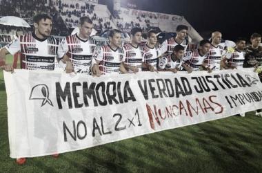 El once que ayer no pudo hacer la diferencia con Sarmiento. Foto: Prensa C.A.P.