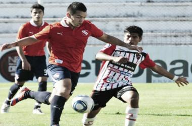 Patronato en uno de sus últimos encuentros ante Independiente. Foto: C.A.P