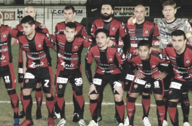 El equipo que ganó ayer contra Quilmes. Foto: Prensa C.A.P.