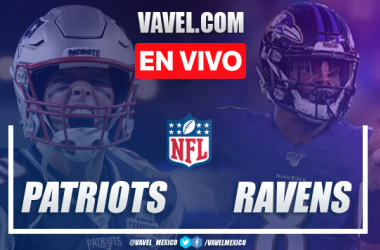Resumen y touchdowns: New England Patriots 20-37 Baltimore Ravens en NFL 2019