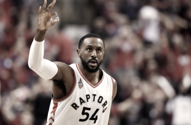 Patrick Patterson will head back to the Western Conference to join the Oklahoma City Thunder and will try to help the Thunder get over the hump. Photo: Frank Gunn/The Canadian Press
