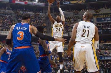 Contra o apático Knicks, Pacers vence e faz 3-1 na série