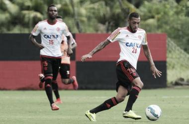 Paulinho foi o destaque do coletivo e chegou a marcar um gol (Foto: Gilvan de Souza/Flamengo)