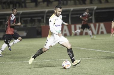 Paulinho já defendeu o Tigre no ano de 2015   Foto: Fernando Ribeiro/Criciúma