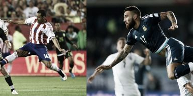 Peligrosos en ofensiva y muy duros para defender: Da Silva vs Otamendi. Fotomontaje: Yanina Ramos.