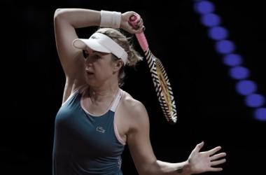 Pavlyuchenkova conta com desistência de Goerges para avançar em Stuttgart