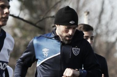 El equipo se entrena en la Villa Olímpica. Foto: Vélez Sarsfield Página Oficial.