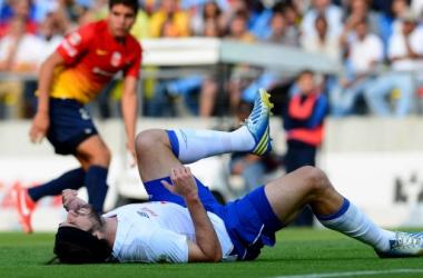 Pavone se lastimó después de un remate a portería. (Foto: Mexsport)