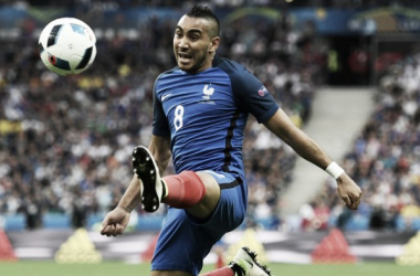 Above: West Ham United's Dimitri Payet in action for France at Euro 2016 | Photo: Sky Sports