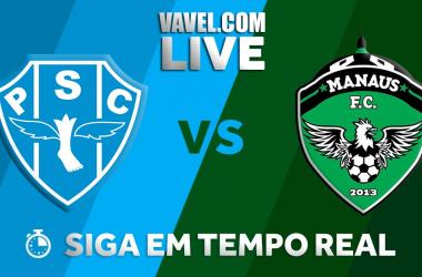 Resultado Paysandu x Manaus pela Copa Verde 2018 (2-1)