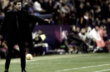 """Simeone: """"Fuimos superiores durante todo el partido"""""""
