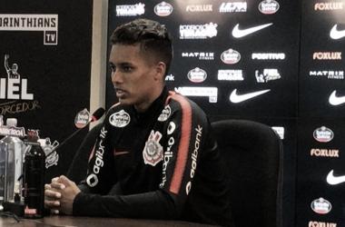 Pedrinho vem se destacando com a Camisa alvinegra (Foto: Divulgação/Corinthians)